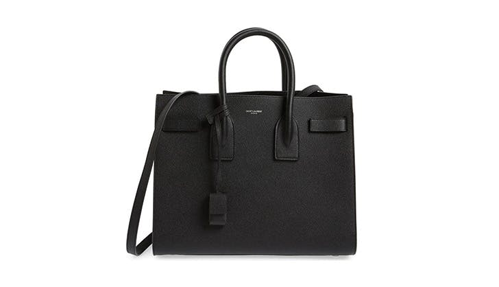 YSL structured tote