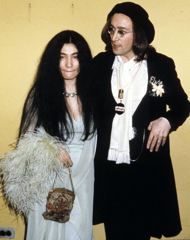 Yoko Ono John Lennon Grammys couple