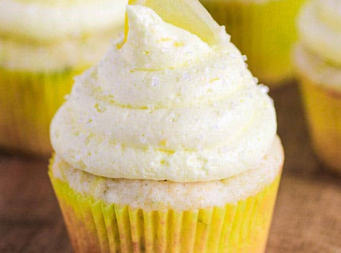 Zucchini Lemon Cupcakes Recipe