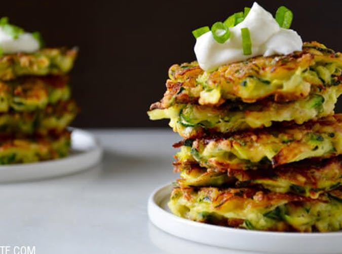 Zucchini Fritters macro diet recipes