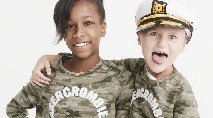 Huzzah! Abercrombie Just Announced a Gender-Neutral Kids Clothing Line