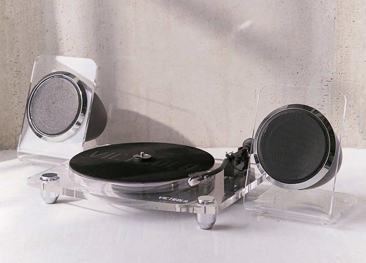 acrylic record player