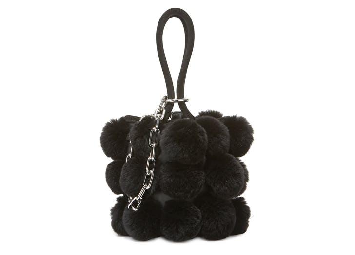 alexander wang fuzzy bag NY