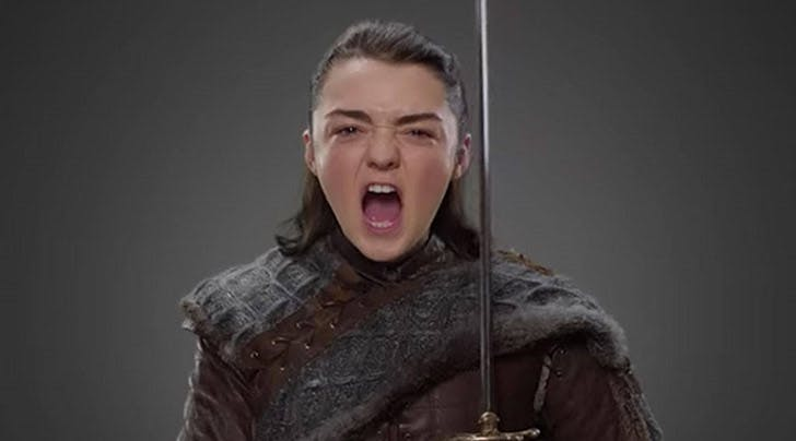 Um, Did Maisie Williams Just Accidentally Tell Us When 'Game of Thrones' Is Returning? (Yup)
