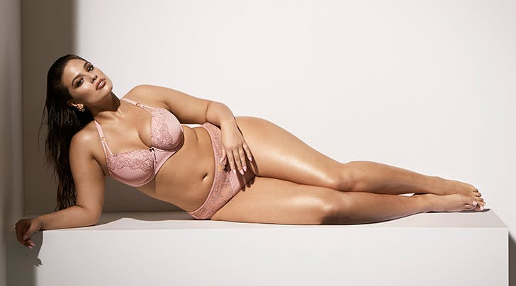 Ashley Graham Released a Sexy Plus-Size Lingerie Collection Just in Time for Valentines Day