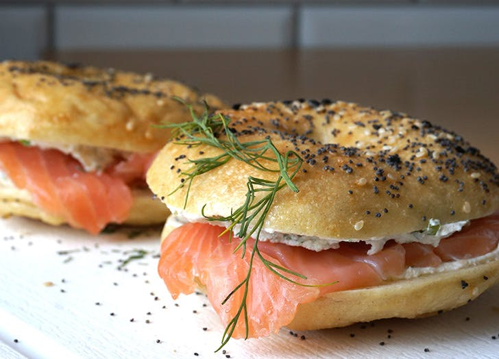 bagel with lox omega 3s