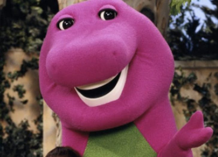 barney kids tv show personalities