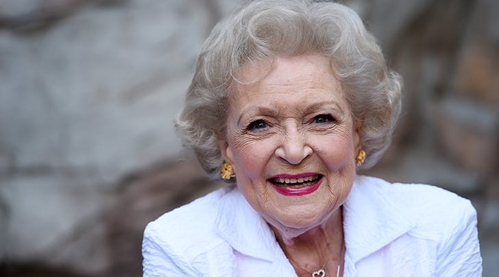 Betty White Says *This* Is the Secret to Living to 96