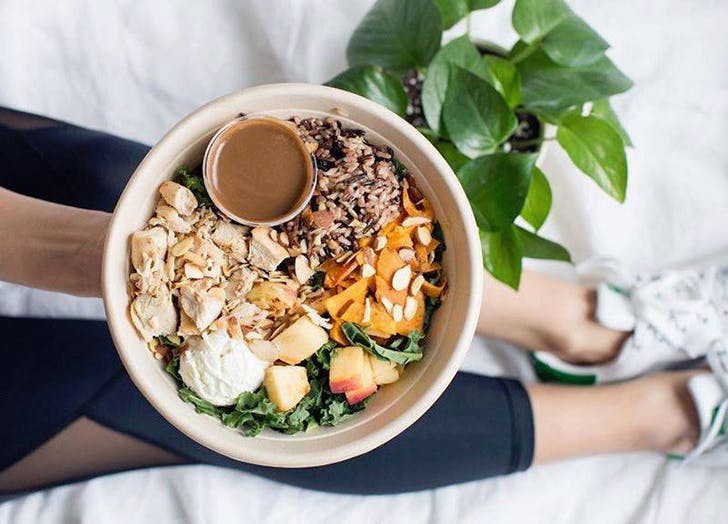 boxing instructor food diary sweetgreen