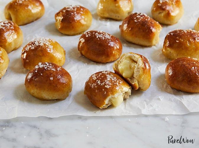 brie stuffed pretzel bites