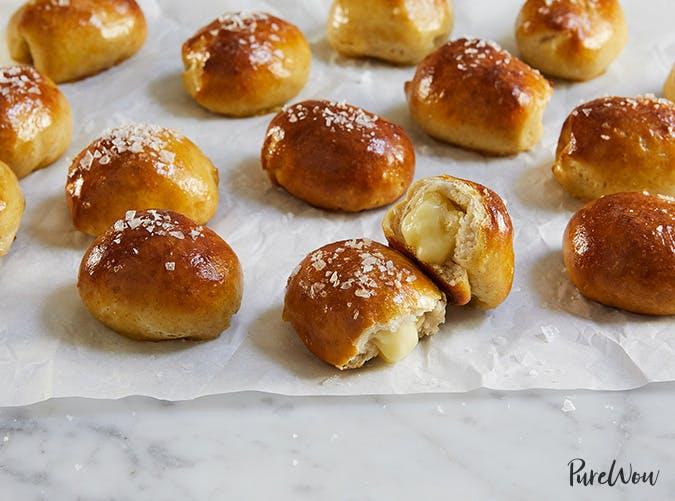 brie stuffed pretzel bites eagles fans recipes
