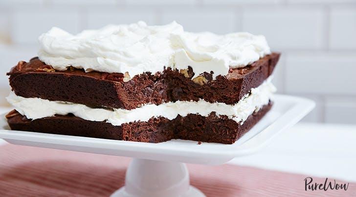 Brownie Layer Cake