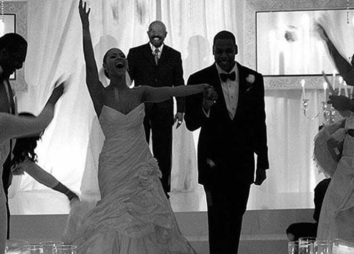 celeb wedding beyonce jay
