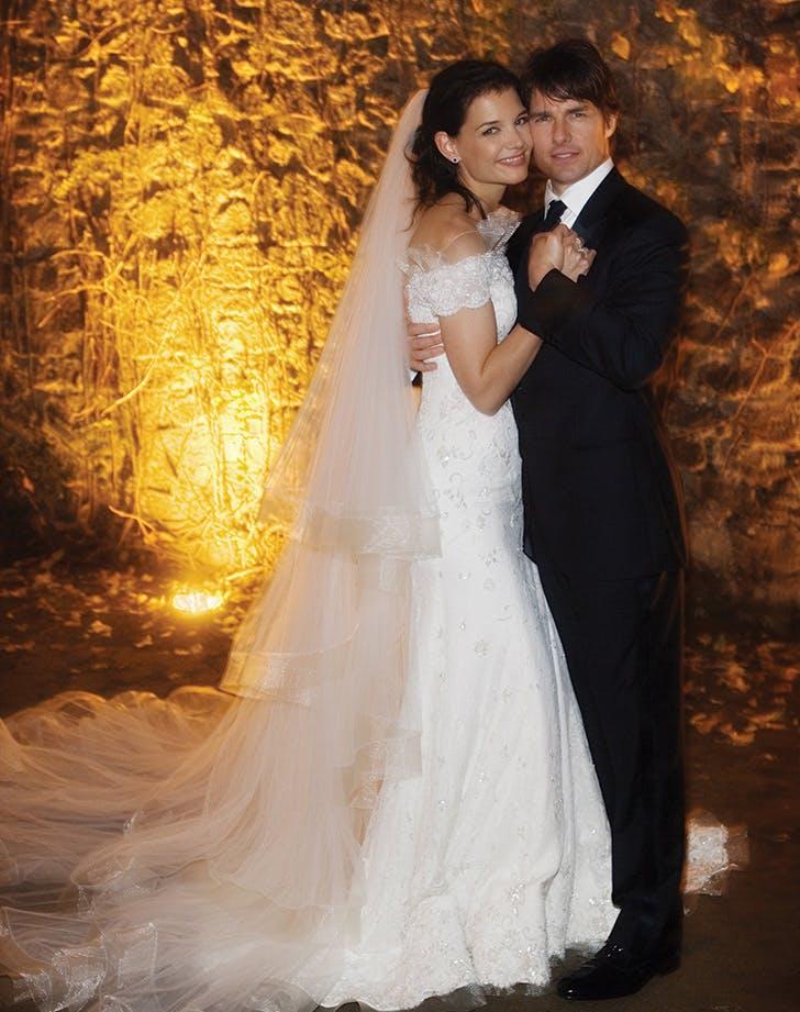 celeb wedding katie holmes
