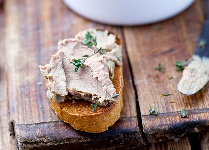 chicken liver on toast vitamin a