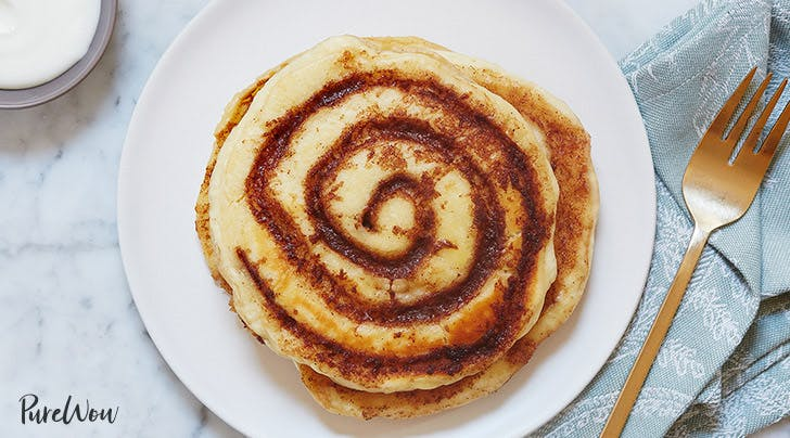 Cinnamon Roll Pancakes - PureWow