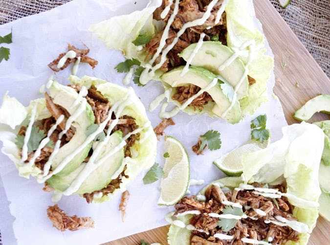 clean eating chipotle pulled pork lettuce wraps recipe