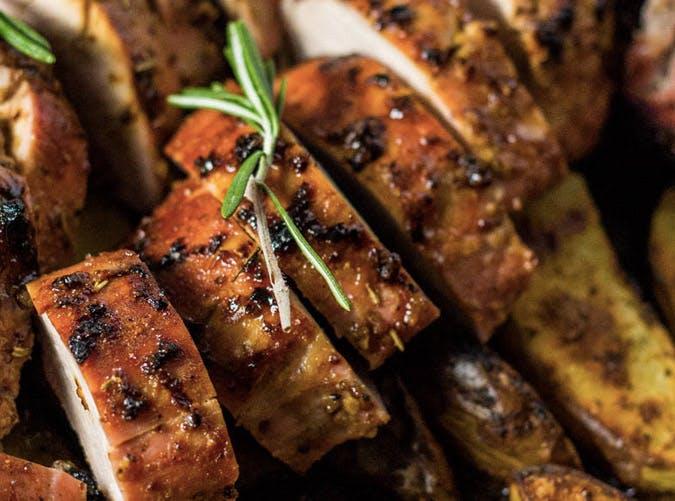 clean eating one pan pork tenderloin veggie recipe