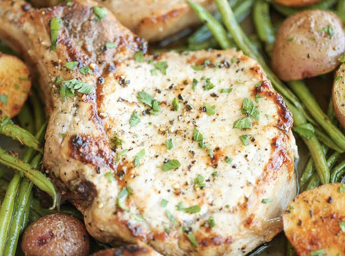 clean eating one pan ranch pork chops recipe