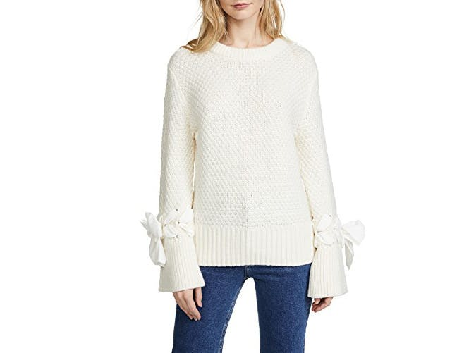 club monaco bell sleeve sweater