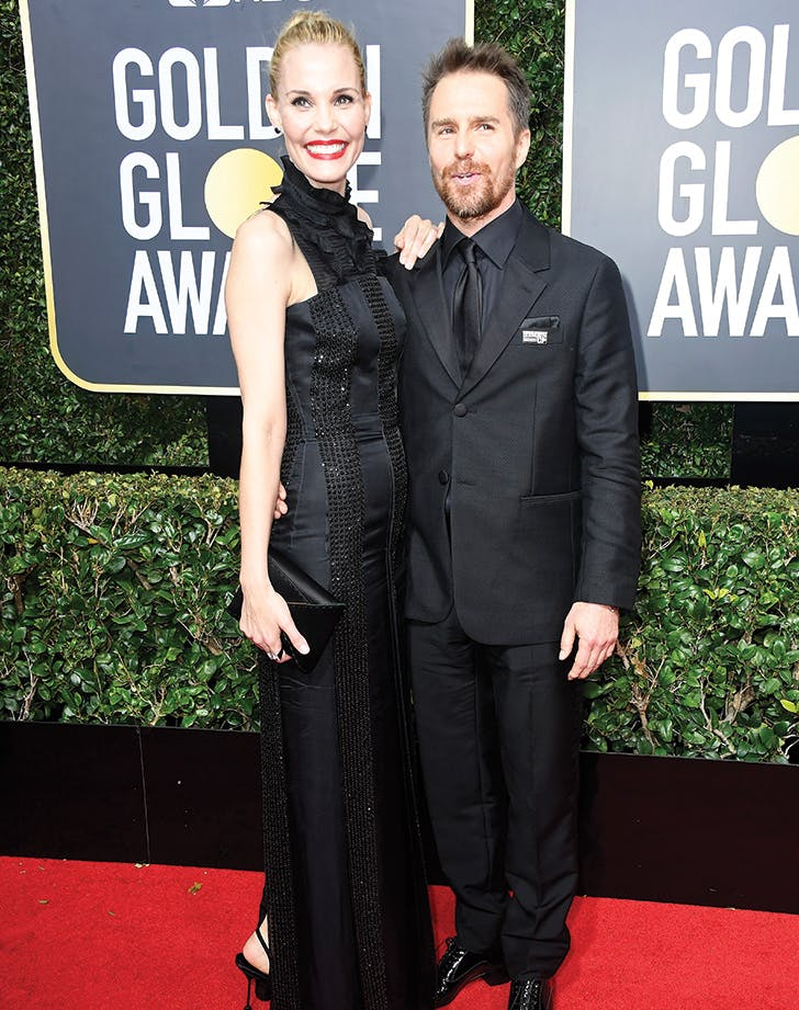 cutest couples sam rockwell leslie