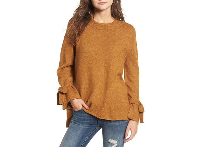 dreamers by debut flared sleeve sweater