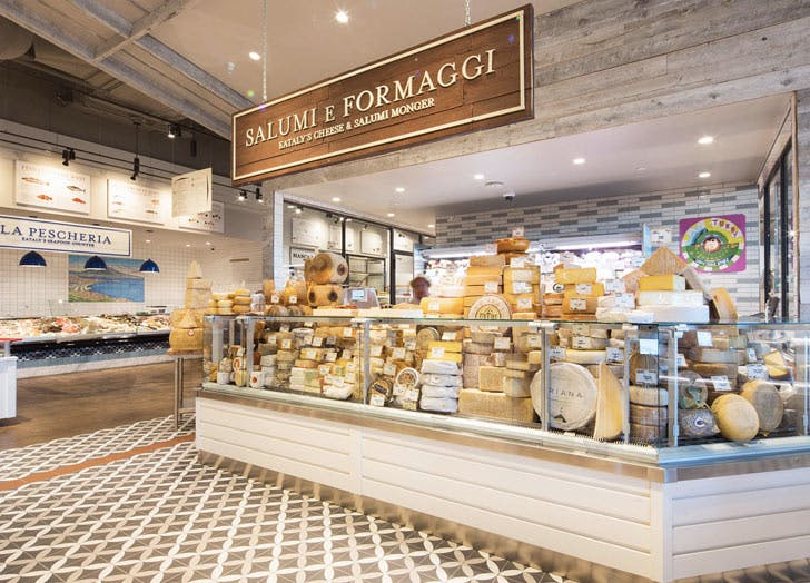 eataly los angeles cheese counter