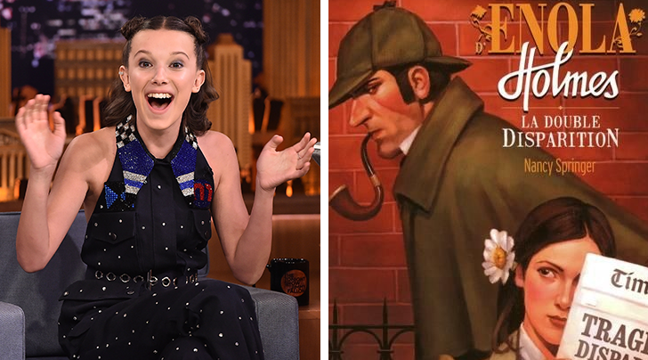Millie Bobby Brown to become Enola Holmes, supersleuth