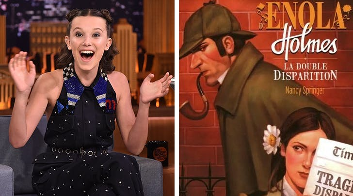 Move Over, Eleven: Millie Bobby Brown to Star and Produce a Film Series About Sherlock Holmess Little Sister