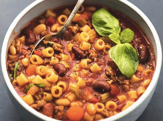 fastest instant pot pasta e fagioli recipe