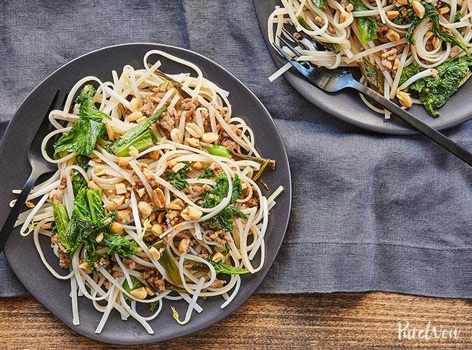 gluten free cheaters pad thai recipe