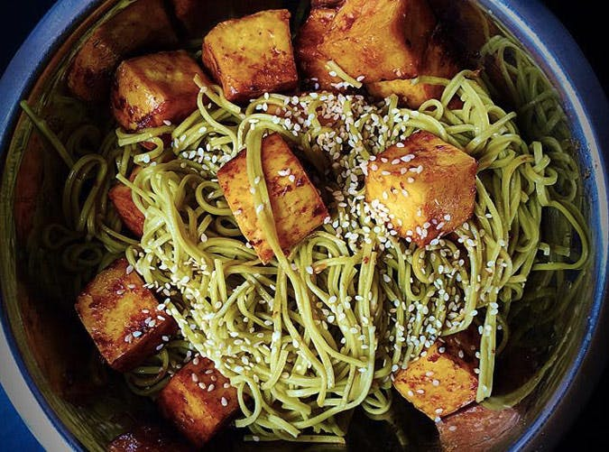 gluten free green tea soba noodles Recipe