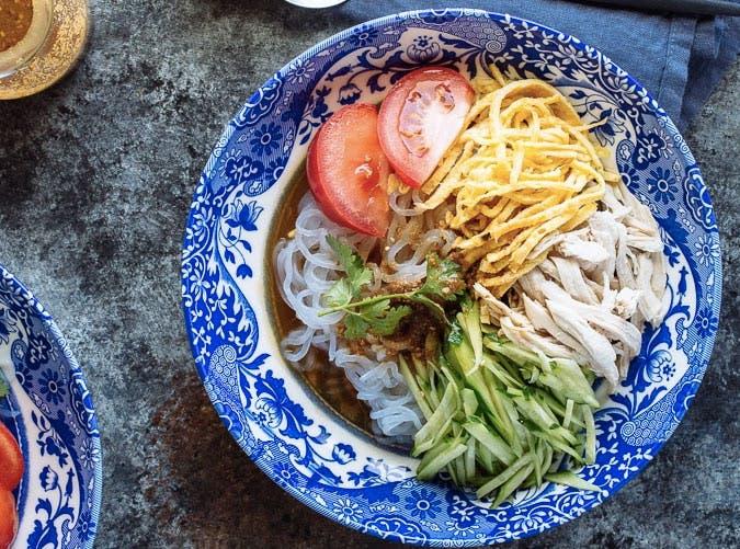 gluten free honey sesame shirataki noodles recipe
