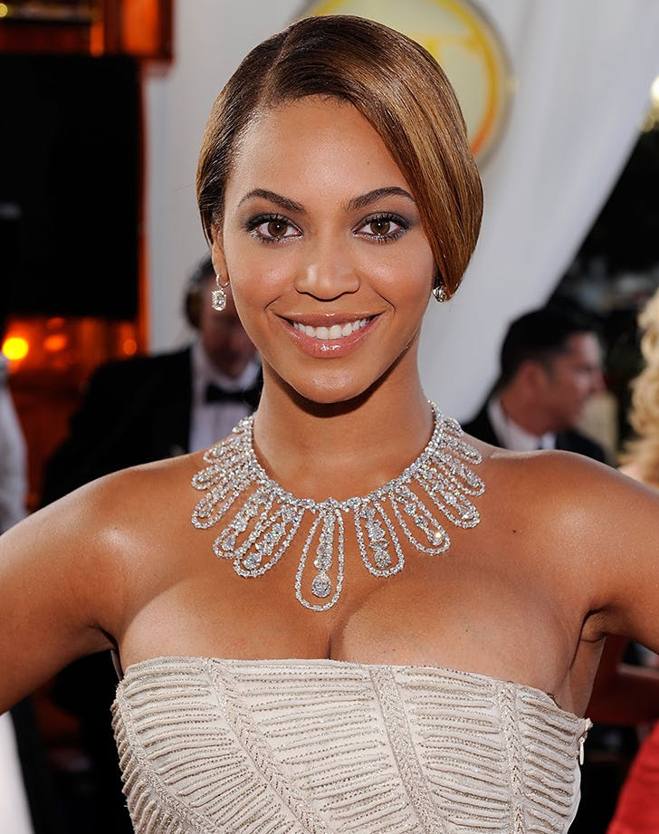 golden globes beauty beyonce