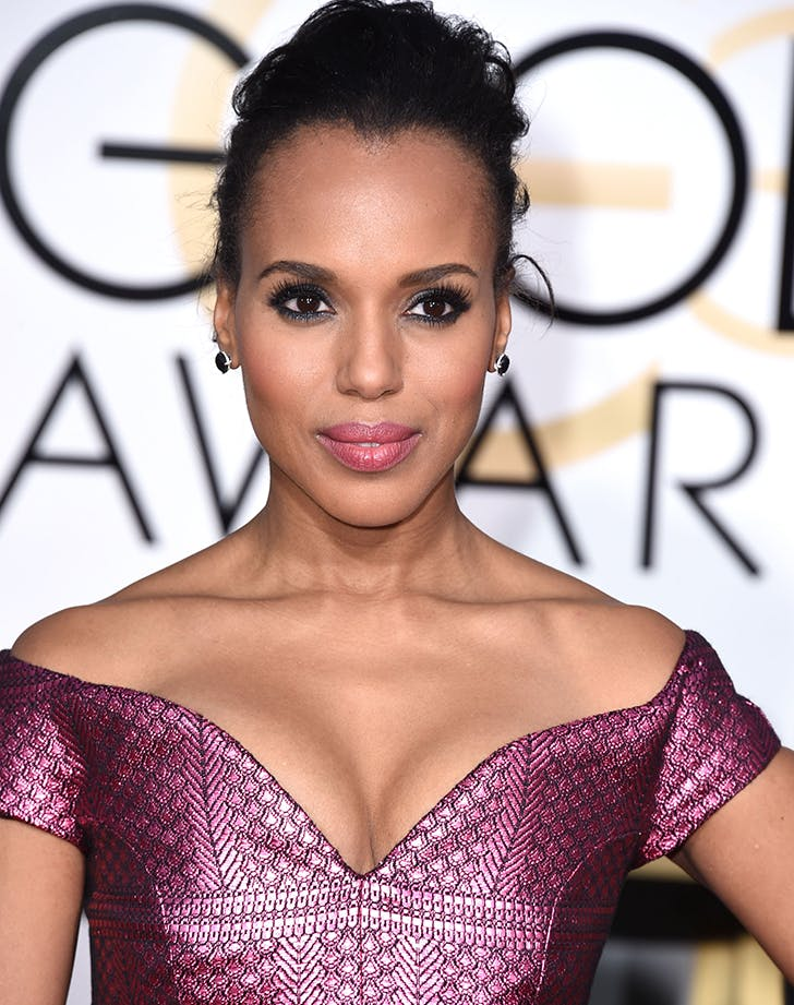 golden globes beauty kerry washington