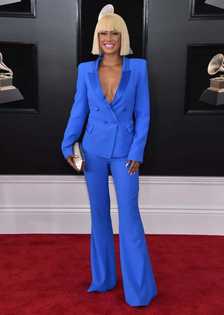 grammy 2018 power suit sibley