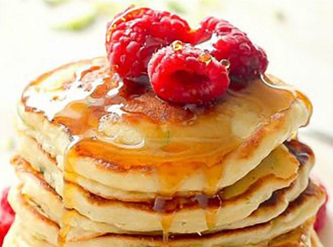 greek yogurt zucchini pancakes recipe1