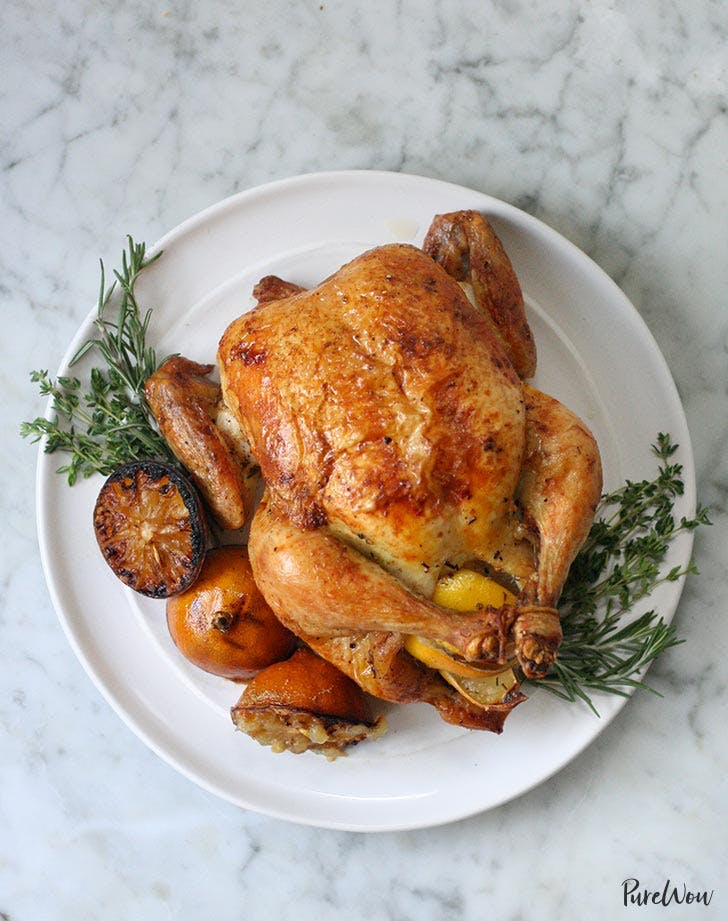 homemade lemon roast chicken recipe