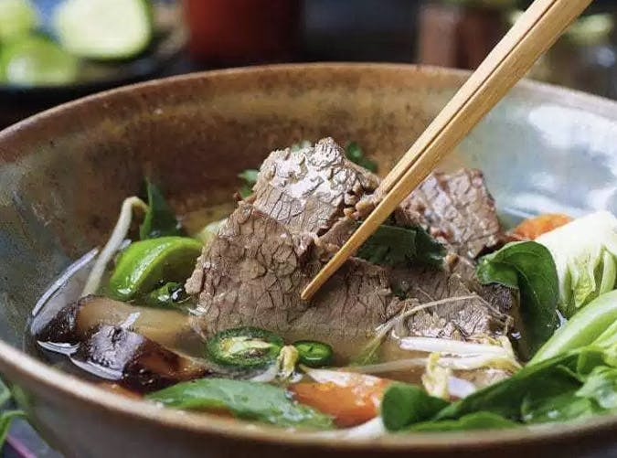 instant pot ketogenic paleo brisket beef pho recipe