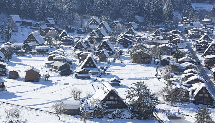 japan village winter wonderland 1