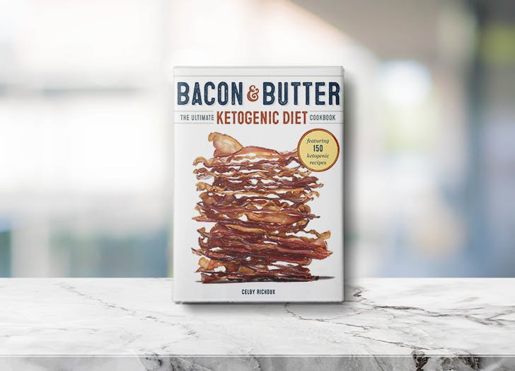 keto cookbooks bacon and butter