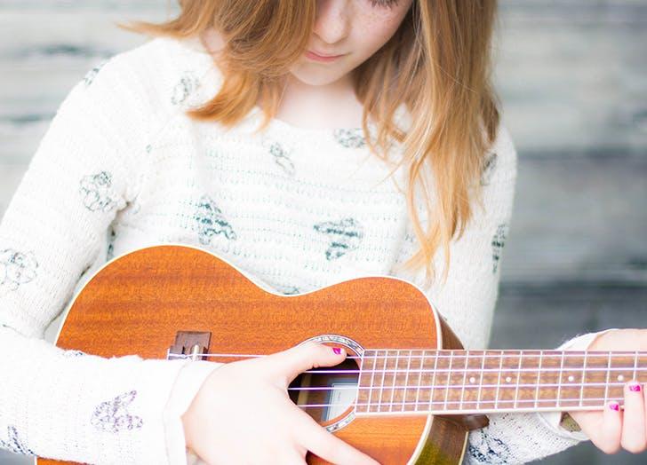 kid guitar