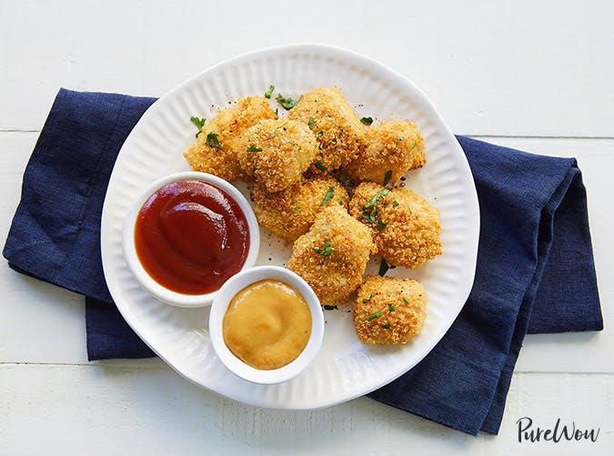 kids allergy free baked quinoa chicken nuggets recipe