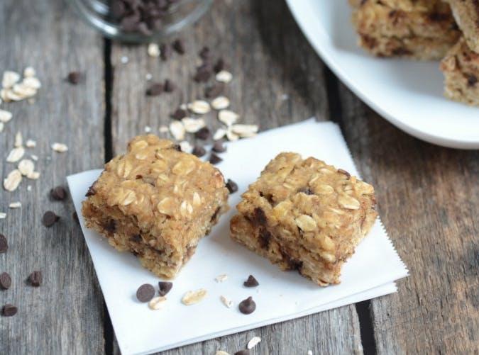 kids allergy free chocolate chip oat bars recipe
