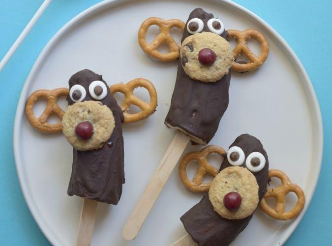kids allergy free chocolate covered banana moose pops recipe