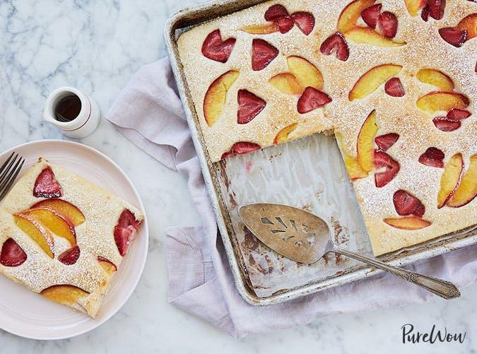 kids nut free sheet tray pancake recipe