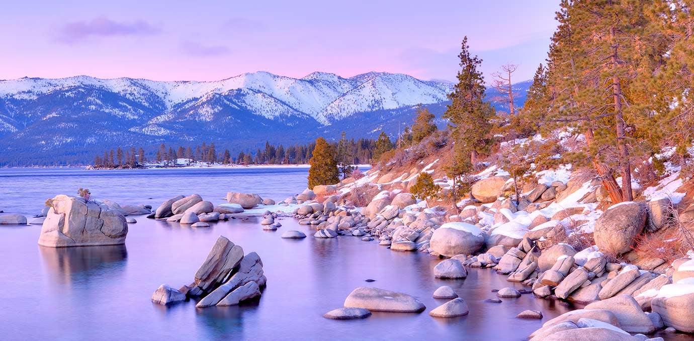 lake tahoe travel in january