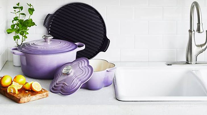 Le Creuset Just Launched the Most Gorgeous Line of Lavender Cookware