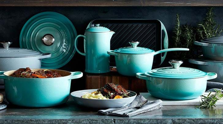 Le Creusets Mint Cookware Is on Major Sale Right Now and Holy Swoon, Do We Need It