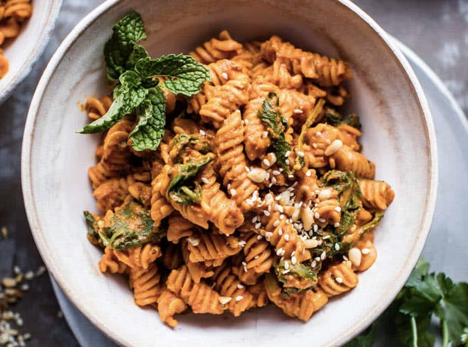 lightened up pastas sundried tomato red lentil pasta recipe